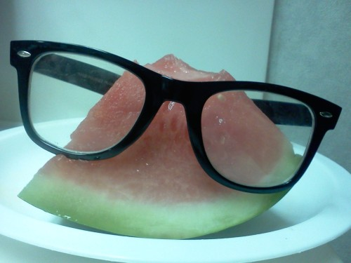The coolest Watermelon of all time, is it not?