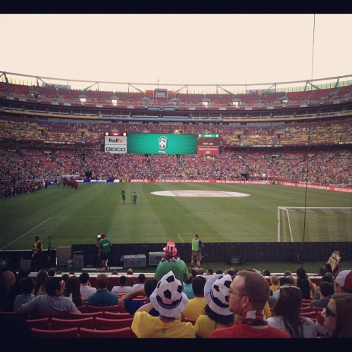 USA vs Brazil  (Taken with instagram)
