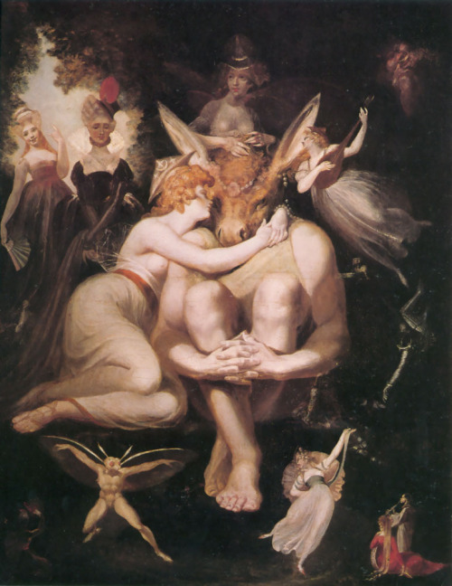 """Titania, Bottom and the Fairies"" by Henry Fuseli"