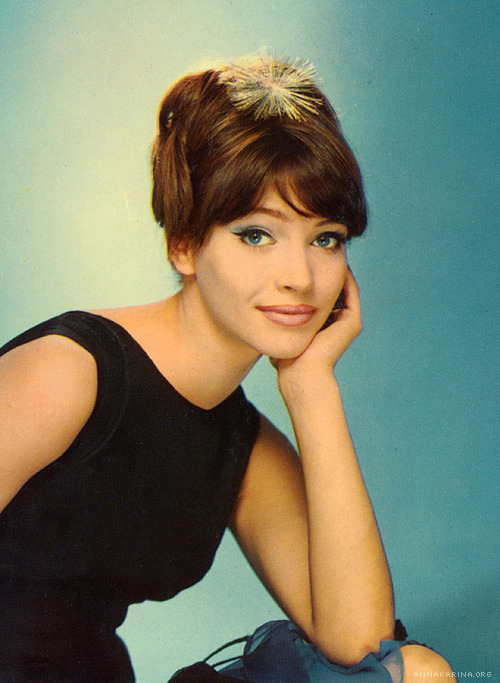 hollyhocksandtulips:  Anna Karina Photo by Sam Levin