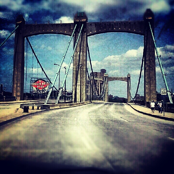 Hennepin Avenue Bridge, Minneapolis, MN.