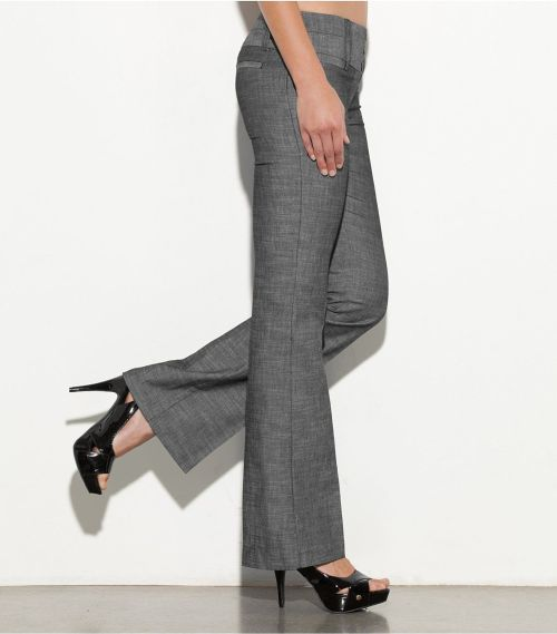 A perfect balance of fashionable workwear and casual-chic style, this Elle Jay trouser from G by GUESS is a definite must-have! Trouser jeans offers style and comfort while highlighting your curves.