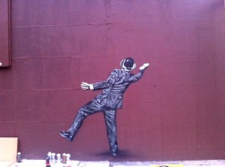 Nick Walker in Progress in NYC @bkstreetart