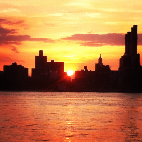 Manhattanhenge May 30, 2012