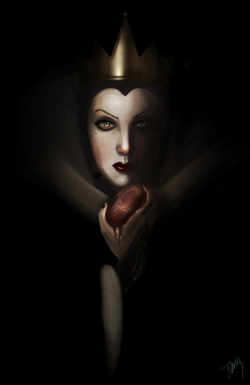 becausesometimesdreamsdocometrue:  The Evil Queen by Surnaturel.