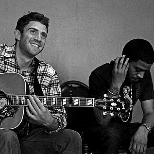 My buddies @bryangreenberg and @wizardcud (Taken with instagram)