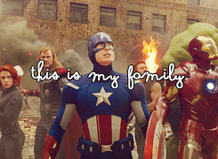 """…family means nobody gets left behind. Or forgotten."""