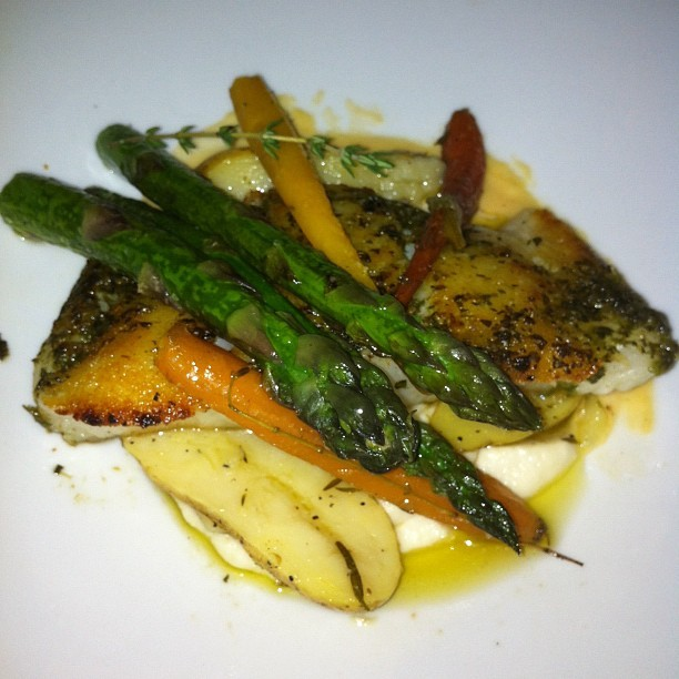 Chilean Sea Bass #foodie #nofilter #seafood (Taken with Instagram at Fig & Olive)