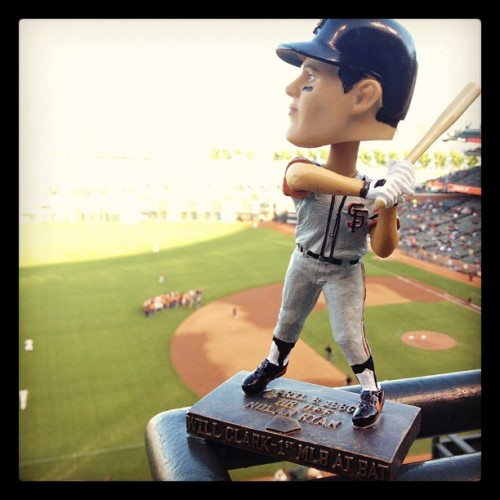 Here again. Will the Thrill says hi. #sfgiants  (Taken with Instagram at AT&T Park)