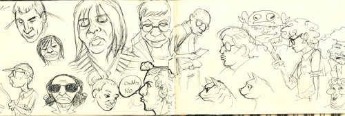 "Some silly ass sketches I did while on the train with my friends. My friend Reza is the one saying ""Daddy no"". Don't ask"