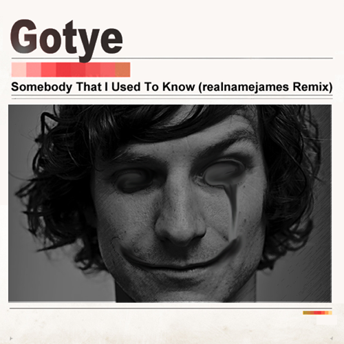 "camprecordings:  Gotye - Somebody That I Used To Know (realnamejames Remix) From realnamejames's upcoming release, ""Native Sounds."" Download Here: http://realnamejames.bandcamp.com/"