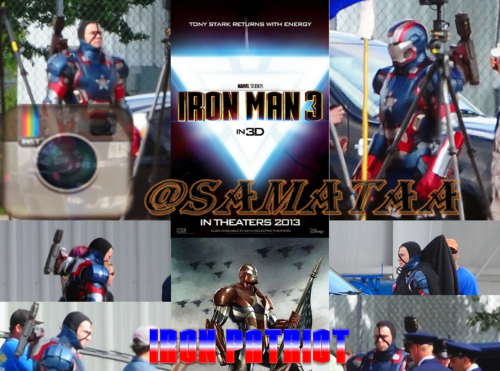 "One of the villain(S) in ""Iron Man 3"", say hello to the big guns 'Iron Patriot' aka Eric Savin played by James Badge Dale (""The Departed,"" TV's ""24"")!! Can't Wait: May 3, 2013 people!! Took me a while to get this info and put it together, so i would appreciated it if you ""Share"" it please ♥ :) More to come…. ;)"