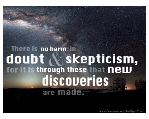 dead-logic:  Doubt and Skepticism.