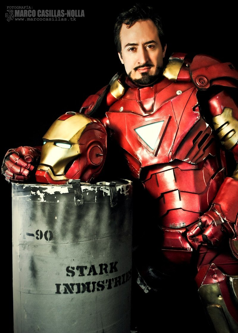 bestofcosplay:  Iron Man 01 by ~marcocasillas
