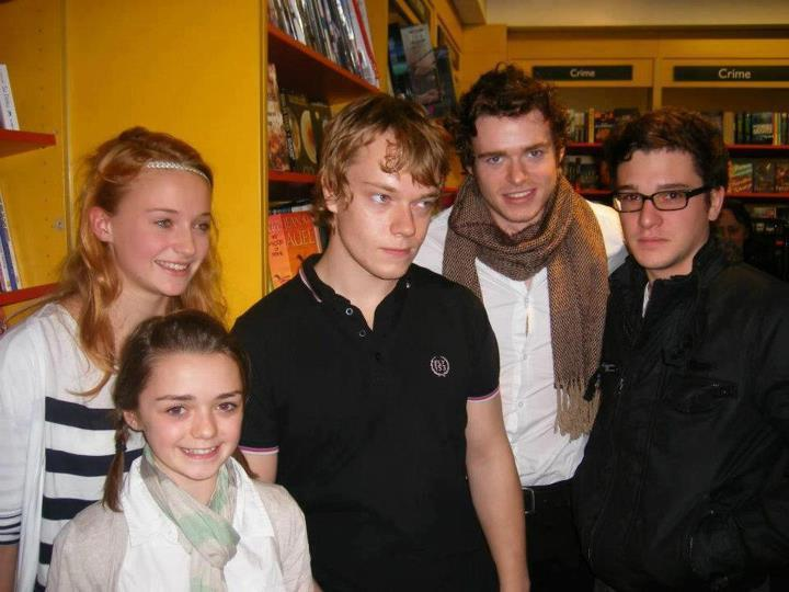 The Kids of Winterfell Wow. They really grow up fast in the North.