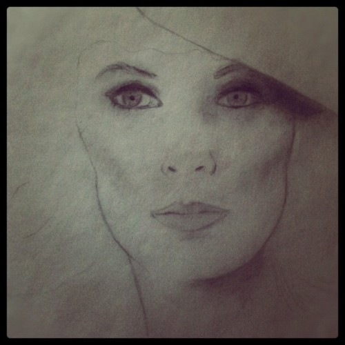 WIP Beverly Crusher aka Gates McFadden (Taken with instagram)
