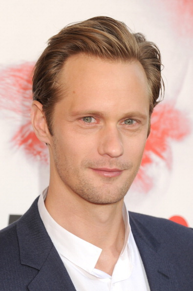 santress:  Close-up of Alexander Skarsgard at the premiere of True Blood, Season 5 (May 30, 2012). (Source:  Skarsgard Gallery)