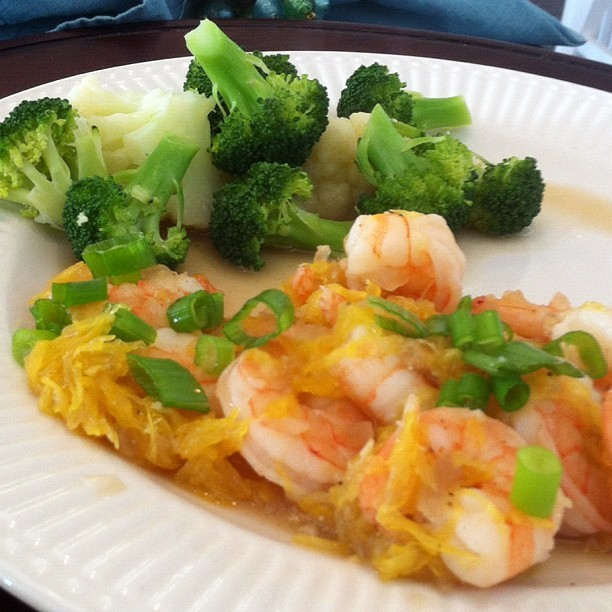 Sweet and Sour Shrimp This one was amazing. I made it for my family and my stepdad super enjoyed it. I think i'll be making it again :) It was also my last meal on P2 so that was very nice. The recipe came from here: http://www.firstcoastmd.com/pdfbin/free-hCG-diet-recipes.pdf