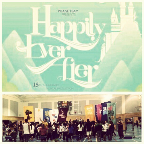 THIS WEEKEND! BE THERE! #PraiseTEAM #HappilyEverAfter #happytoimes (Taken with instagram)