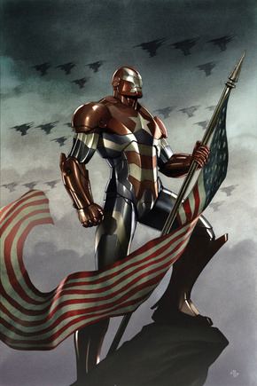 Iron Patriot will face off against Tony Stark in Iron Man 3