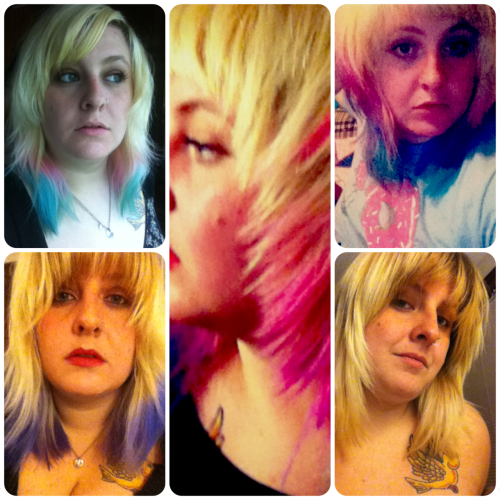 The many faces of my hair this year so far.