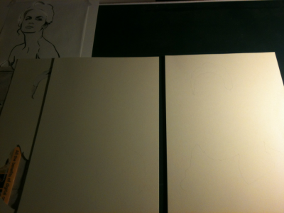 New poster in process—you can barely see an outline right now. It will all make sense in the end.