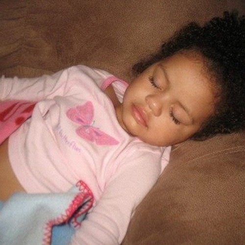 Baby girl sleepin sound.