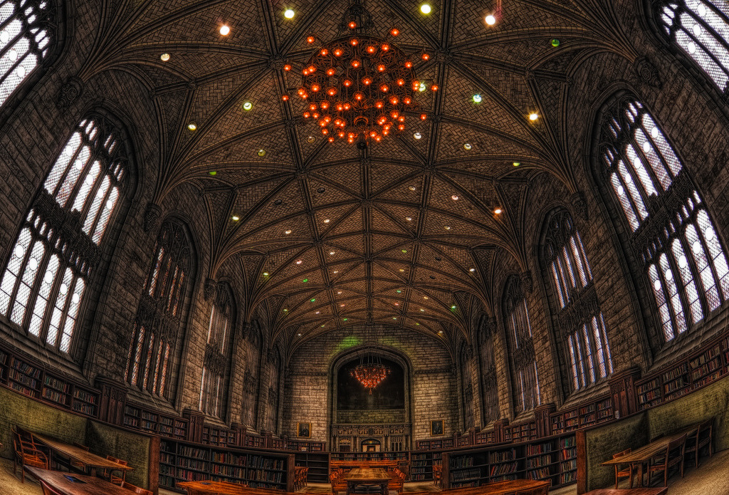 Harper memorial library, University of Chicago