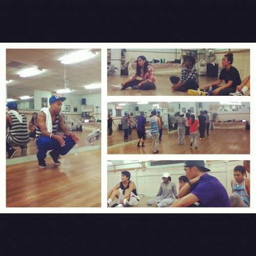 through-my-eyes:  CREWcial practice earlier with guest choreographer, Gary Beauford. Thank you again @gbeasy for teaching!💃 (Taken with instagram)  I miss my fam.