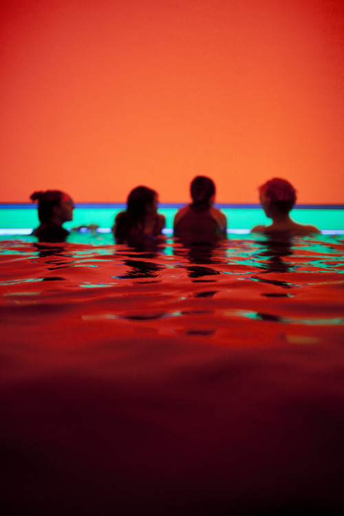 iwantmyartnow:  James Turrell's Baker Pool, 2002-2008  [Photo Via Giffen Clark Ott]