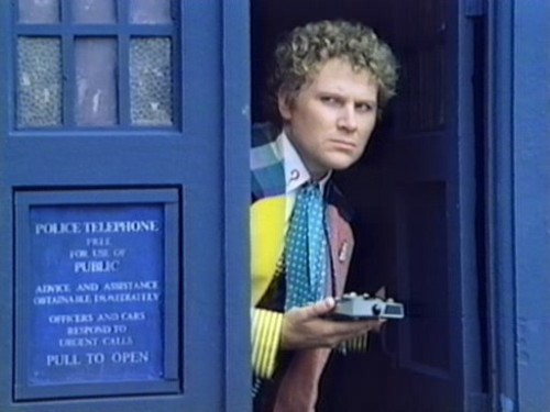 I love Colin Baker, but honestly, I'm not sure if it's because he's underrated and actually really swell, or if it's because he looks a bit like Will Ferrell and then I start imagining Will Ferrell as the Doctor.