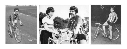 "18milesperhour:  NANCY NEIMAN: YOUR NORMAL, EVERYDAY, PIONEERING CHAMPION. Looks like a normal, everyday woman out for a ride, eh? Well, she was a fairly normal person who happened to be the U.S. Girl's National Cycling Champion in 1953.  When she won it again in 1954 she pointed out that neither she, nor the other entrants, were girls, and it should be changed to ""Women's."" They agreed. This woman then took it again in 1956. And 1957. She also scrimped and saved so she could go overseas and race for a spell in 1954. She returned in 1956 and – using a borrowed jersey – was the sole American entrant in the stage race that was the women's equivalent of Le Tour. She took 14th. That makes her the first American of either sex to do a stage race in Europe. Average, everyday woman? Hardly.   (thanks to Archival Clothing and Flickr contact Paris-Roubaix)"