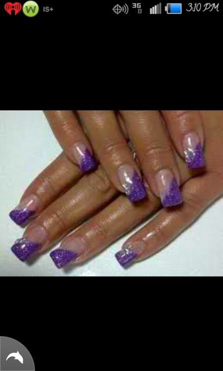 Next nails purplee