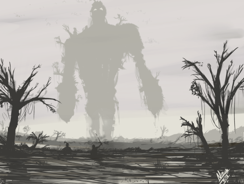 assorted-goodness:  Shadow of the Colossus - by Nixon Nicholas