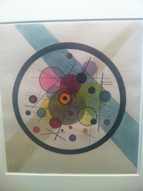 Kandinsky Circles May 2012 Los Angeles, CA