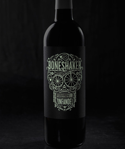 visualgraphic:  Boneshaker Wine Bottle