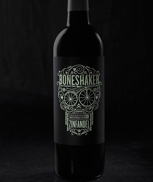 Boneshaker Wine Bottle