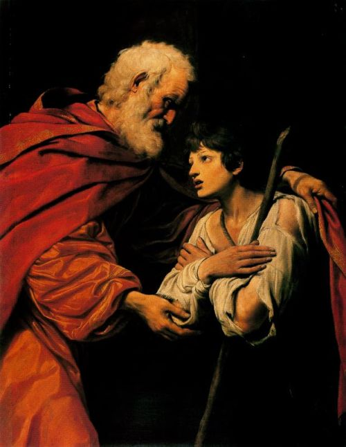 The Return of the Prodigal SonLeonello Spada (1576-1622)