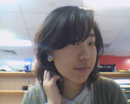 People often mistake my donut earrings for plugs. WHAT?!  If they knew me, they'd know it was food-related.