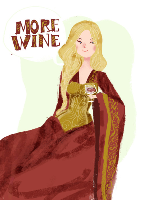 Because Cersei drunk, was one of the coolest things on GoT.