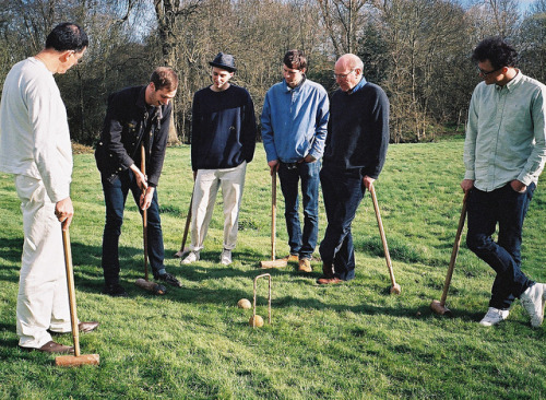 Tom's First Croquet Experience by ollycoffey on Flickr.