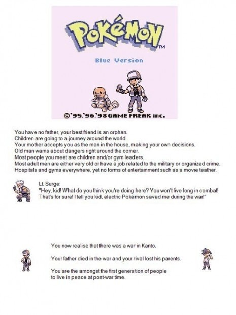The War in Kanto theory of pokemon