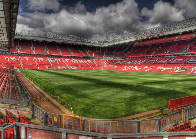 Old trafford home ground of manchester unitedby saadick dhansay