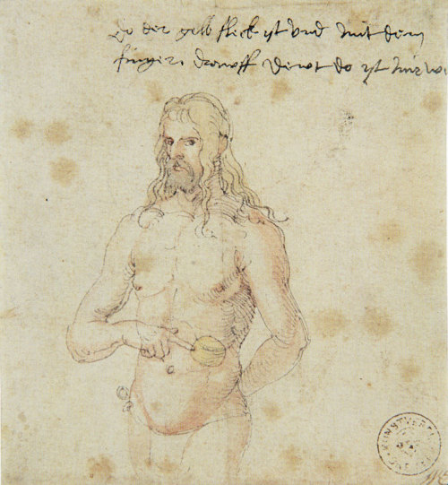 The Sick Dürer - Albrecht Dürer