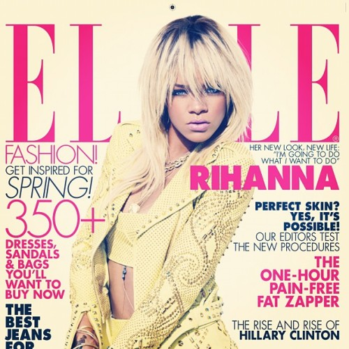iambryaneden:  Rihanna Gives me life on this cover (Taken with instagram)