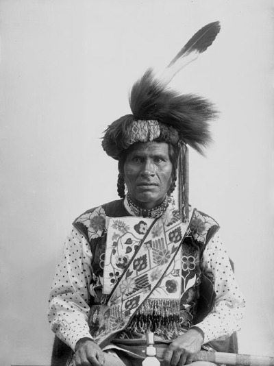 Midwewinind (One Called From A Distance) Ojibwe 1894