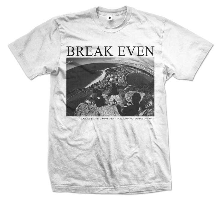Just noticed the last of my series of shirts for Break Even has been put in the store. It's limited to 30 so get in now before they're all gone! (breakevenmusic.bigcartel.com)