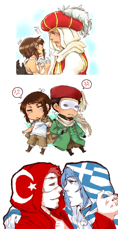 FINALLY SOME TURKEYXGREECE ffff Stuff that I drew on iscribz, the one above is real old, and this is what I got while I was uploading it on tinypic.