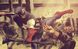 Captain America Kicking ASS!!  Check out my other blogs… Sexy.Beautiful.Women  My Stuff!! Dammit!!   Anime & Comic Art