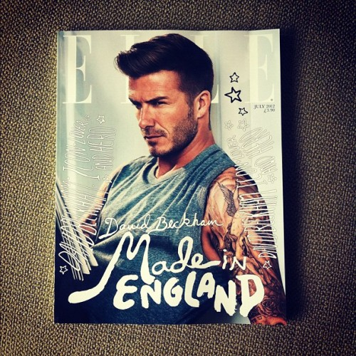 Ace @ElleUK subs cover. Great type. (Taken with instagram)